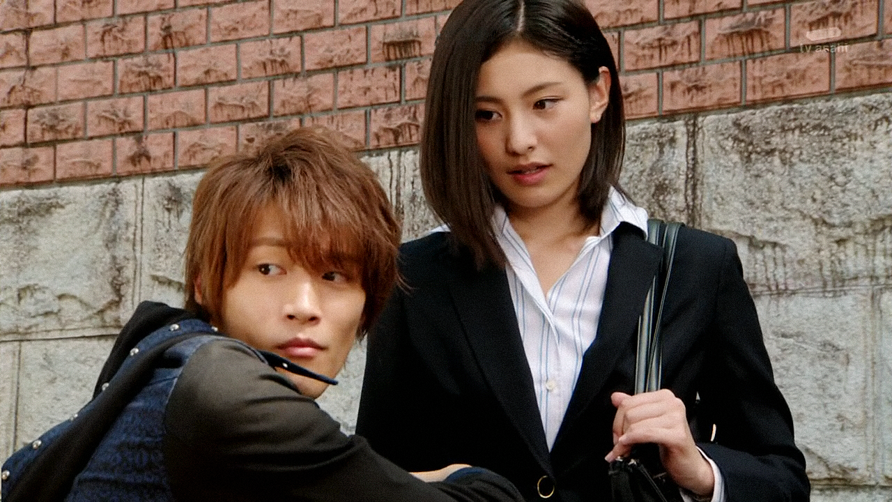 Haruto and Rinko in episode 8
